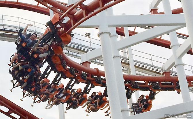 Dream World Bangkok's Sky Coaster Rollercoaster