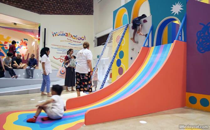 Hullabaloo! At The Artground: Rainbows All Around