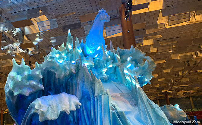 Changi Airport's Frozen Light Show Times & Other Useful Things To Know