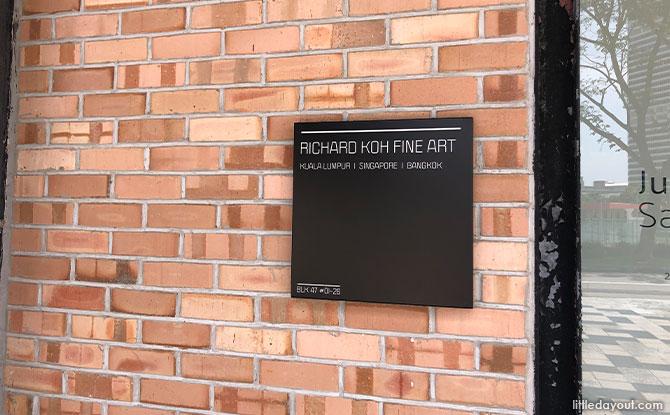 Richard Koh Fine Art in Gillman Barracks