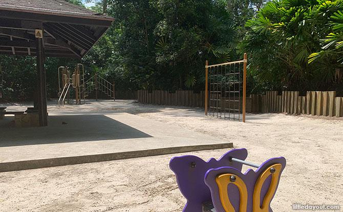 Playground at Bukit Timah Nature Reserve