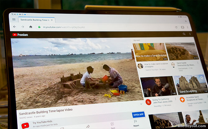 Watch YouTube on the Web Browser