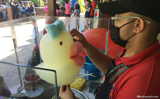 Cotton candy, Lost World of Tambun in Ipoh
