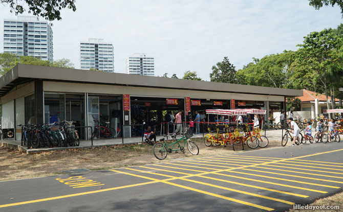 GoCycle Bike Kiosk, East Coast Park