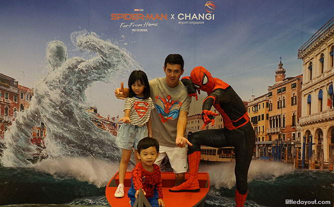 Spider-Man Meet & Greet at Changi Airport