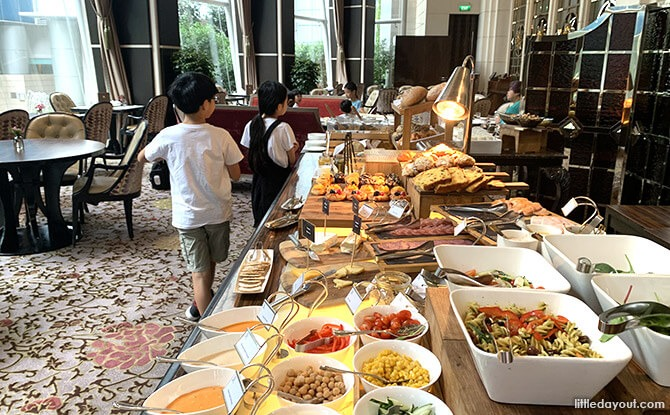 St. Regis Singapore Staycation Breakfast Buffet