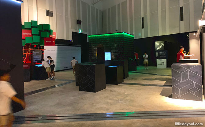 Main Game Room - Singapore Discovery Centre Total Defence Exhibition 2020