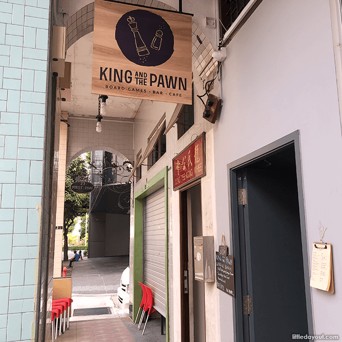The King and Pawn Cafe