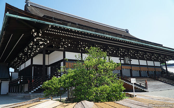 Shishinden or Hall for State Ceremonies, Kyoto Imperial Palace