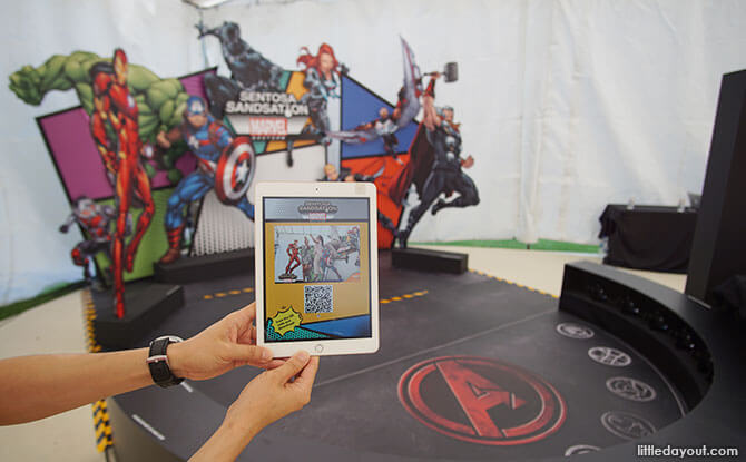 Sentosa Sandsation: MARVEL Edition - Hero Action Centre