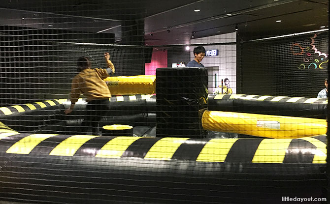 Ninja challenge, VS Park, Osaka, Japan