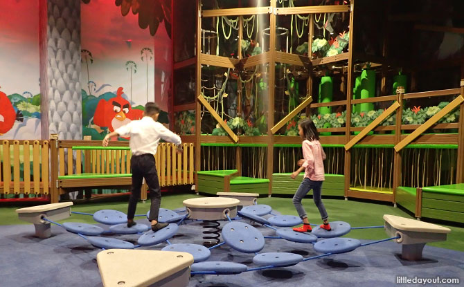 Surfy activity at the Angry Birds Park