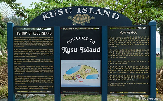 Interesting Things to Do on Kusu Island