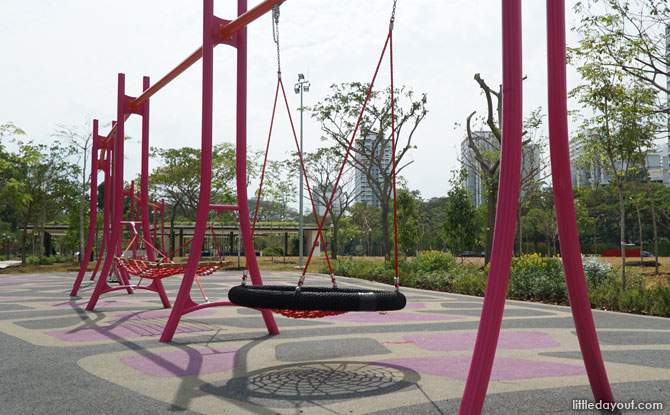 Swings at East Coast Park