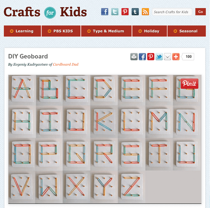 PBS Parents - Craft for Kids