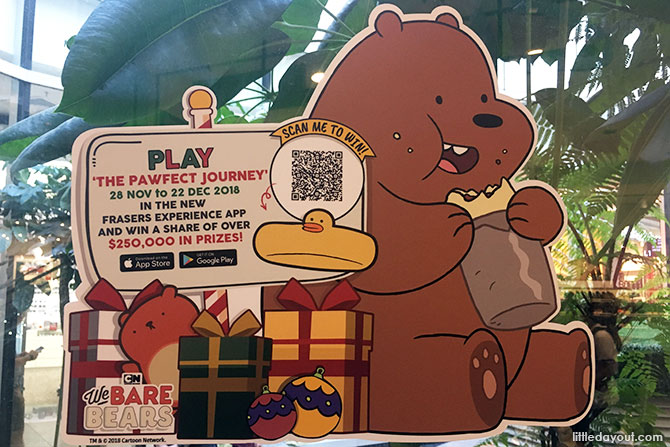 Changi City Point's Christmas Carnival 2018: We Bare Bears