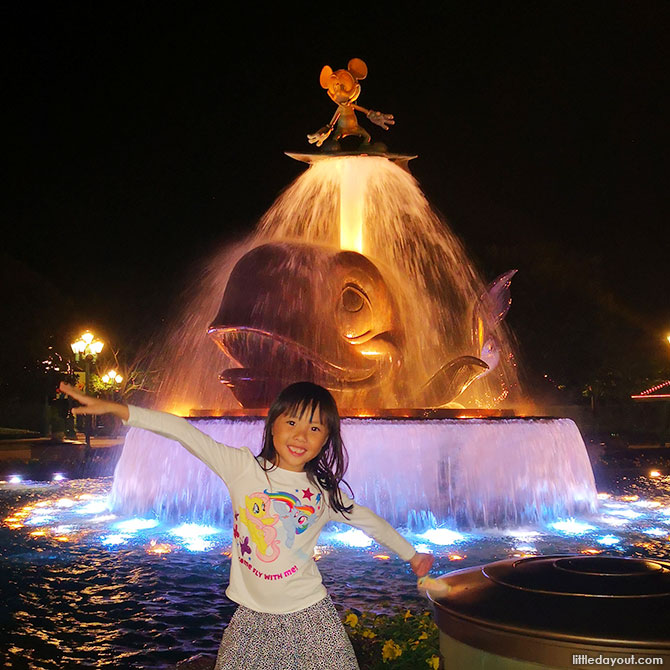 A Evening at Hongkong Disneyland