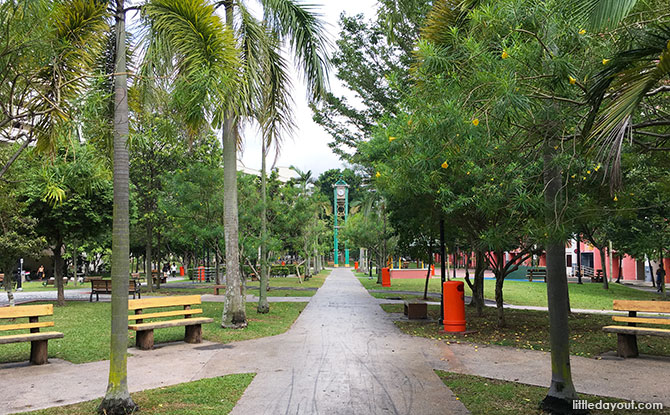Paths at Tampines Central Park