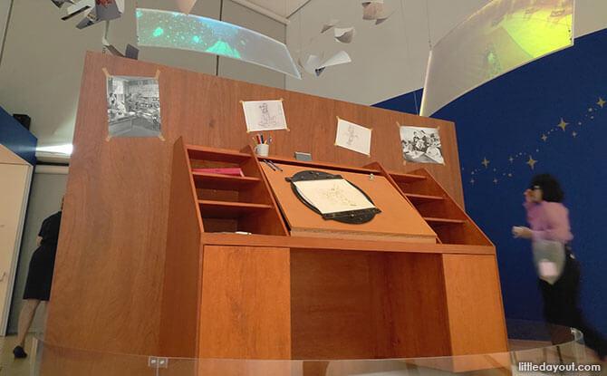 The Animator's Desk, Disney Magic of Animation, Singapore, ArtScience Museum