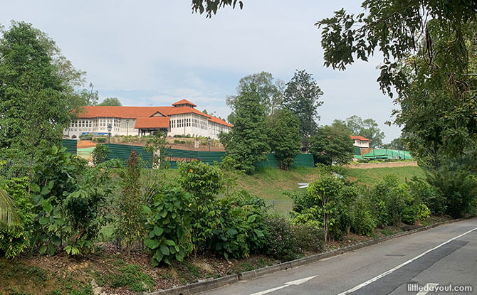 Two black-and-white conservation bungalows at Gallop Road will be part of the Singapore Botanic Gardens Gallop Extension