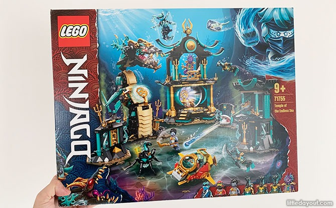 LEGO Temple Of The Endless Sea 71755 Review