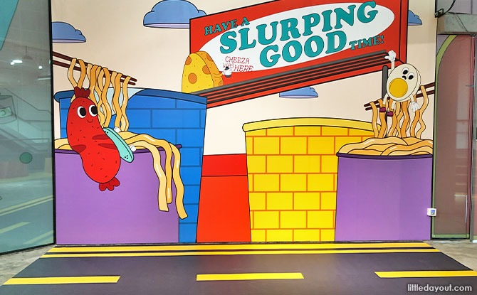 Slurping Good! : Singapore's First Instant Noodle-Themed Playground Opens 24 September