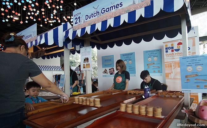 Games at The European Fair
