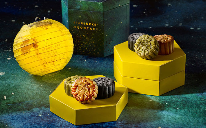 Starbucks mooncakes, Singapore
