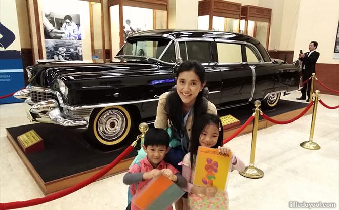 Exhibits at the Chiang Kai Shek Memorial Hall