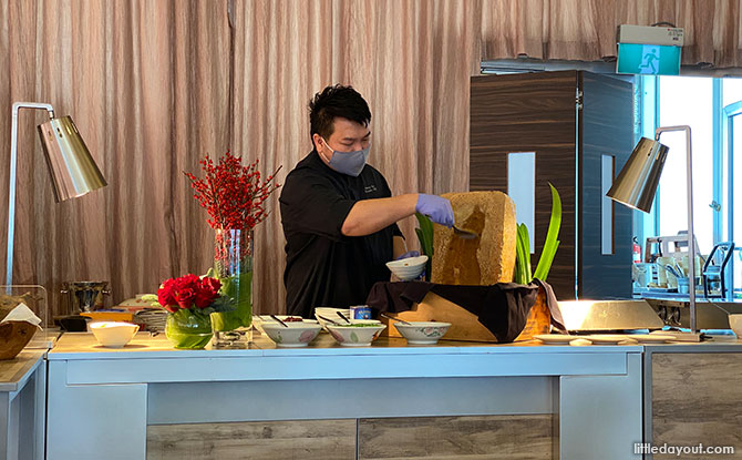 masterclass with One Farrer Hotel's Executive Chef