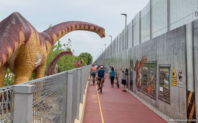 5 Tips For Visiting The Dinosaurs At Changi Jurassic Mile, Plus An Activity Sheet