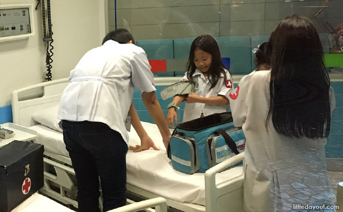 Hospital at KidZania Bangkok