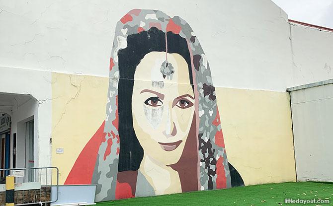 I Am Still Here - Little India Murals