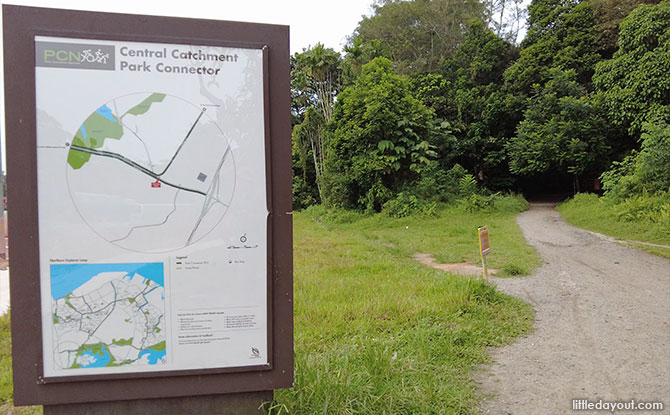 Northern Entrance to the Mandai T15 Trail