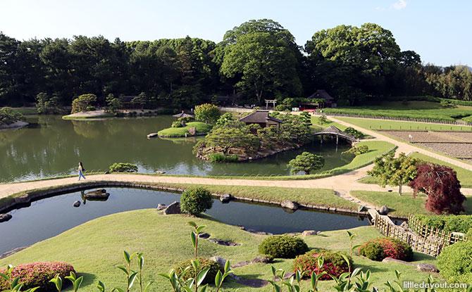 Okayama Korakuen Garden views