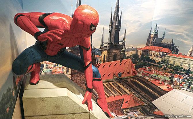 Spider-Man Trick Eye Exhibition