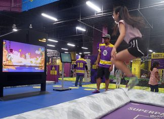 SuperPark Singapore: Game Arenas And Stations That'll Get You Moving
