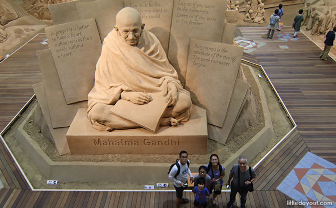 Encountering the giant of a man in Mahatma Gandhi