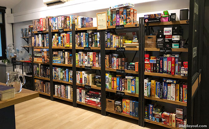 Board games at King and the Pawn