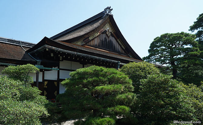 Inside the Kyoto Imperial Palace