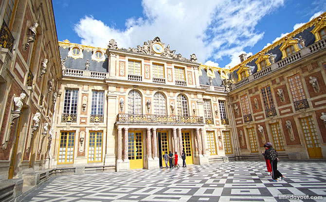 Visiting Versailles, France