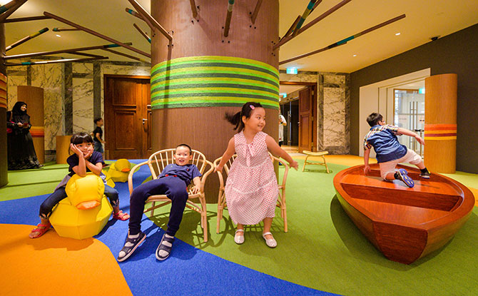 Play by the River at Gallery Children's Biennale 2019: Embracing Wonder