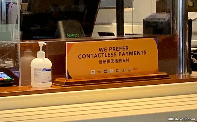 Cashless Payment at Universal Studios Singapore - Safe Management Measures