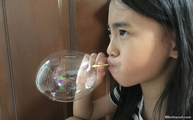 Blowing Plastic Bubbles