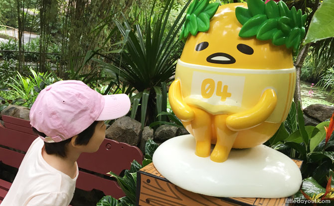 Easter Egg-stravaganza with Gudetama at Jurong Bird Park