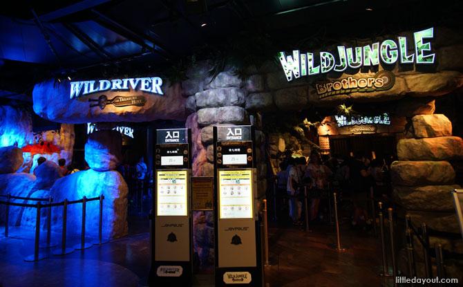 Wild River The Treasure Hunt 4D ride