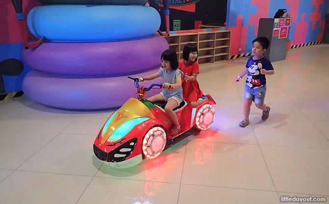 Kiddie Rides at MCM Theme Park
