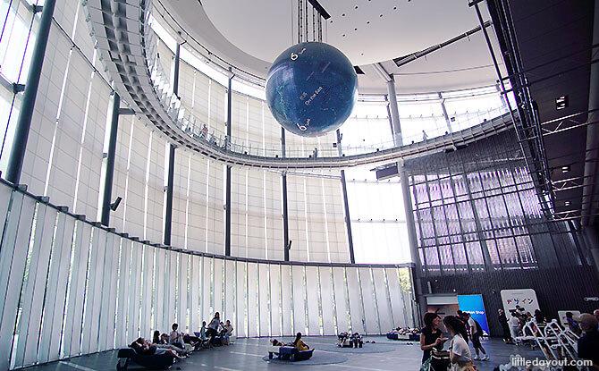 Symbol Zone, Miraikan Science Museum