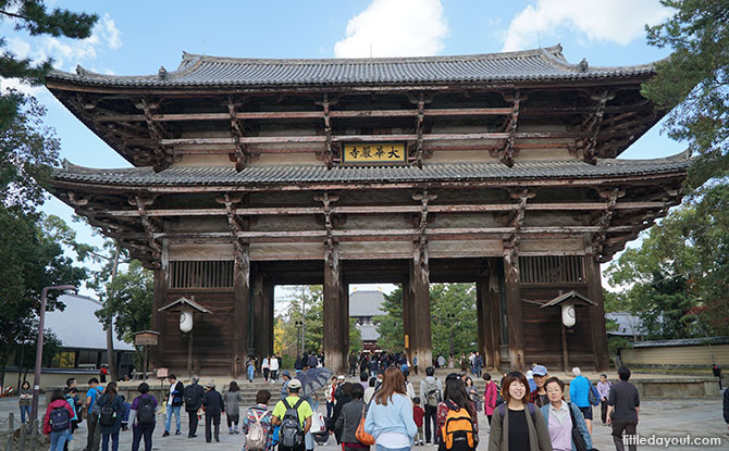 Gate at the Todaiji Temple, Nara