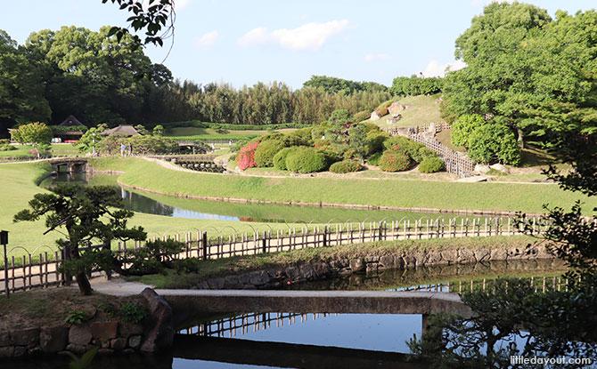 Waterway at Okayama Korakuen Garden